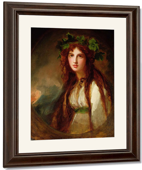 Portrait Of Emma, Lady Hamilton As A Bacchanteportrait Of Emma, Lady Hamilton As A Bacchante By George Romney By George Romney