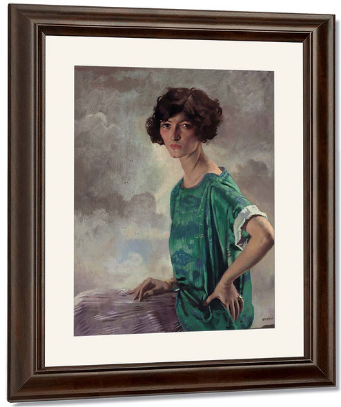 Portrait Of Gertrude Sanford By Sir William Orpen By Sir William Orpen
