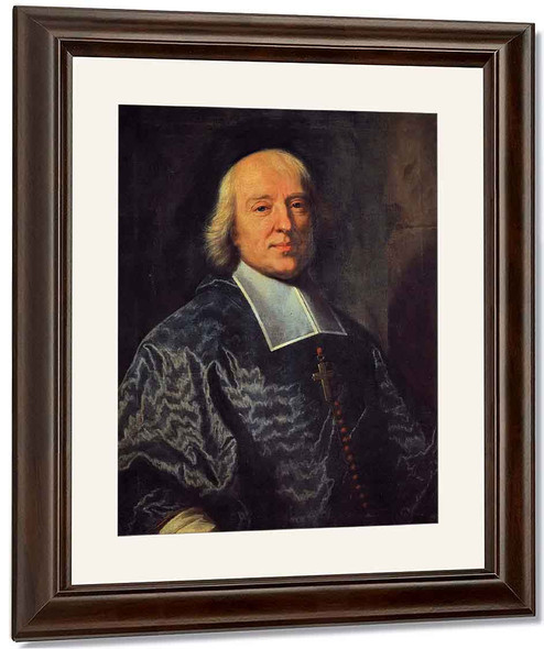 Portrait Of Jacques Benigne Bossuet By Hyacinthe Rigaud