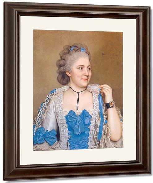 Portrait Of Julie De Thellusson Ployard By Jean Etienne Liotard