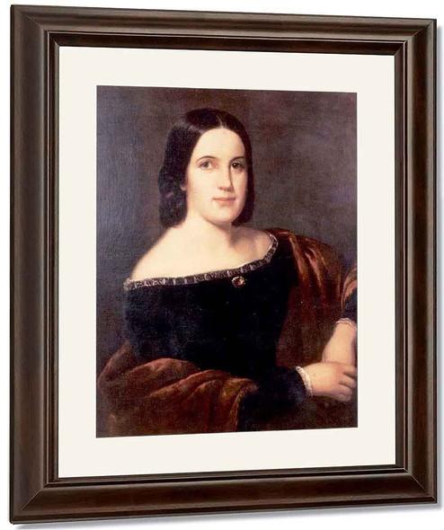 Portrait Of Margaret Ranney 0 By William Tylee Ranney