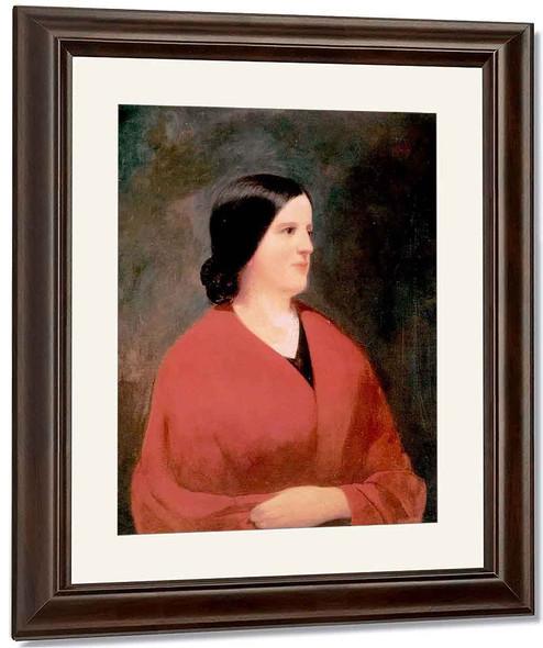 Portrait Of Margaret Ranney By William Tylee Ranney