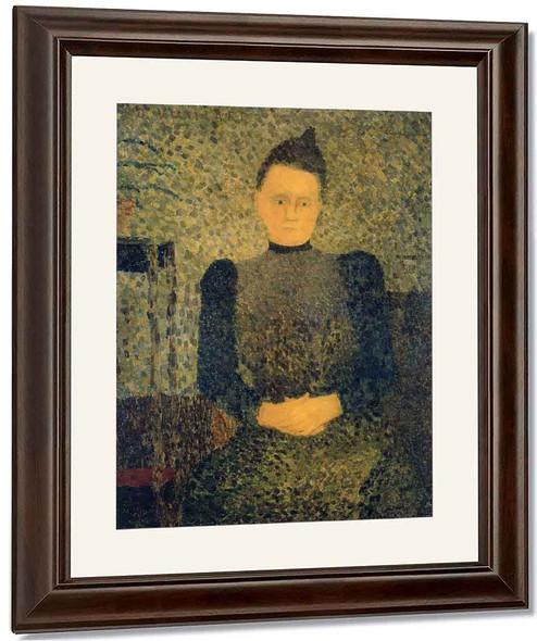 Portrait Of Marie Vuillard By Edouard Vuillard