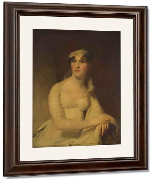 Portrait Of Mrs. Benjamin Wiggin By Thomas Sully