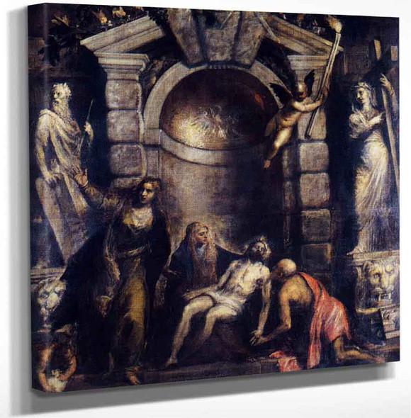 Pieta By Titian Art Reproduction