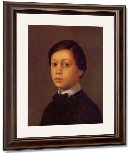 Portrait Of Rene De Gas By Edgar Degas By Edgar Degas