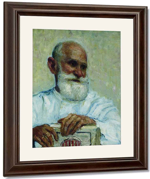 Portrait Of The Physiologist Ivan Petrovich Pavlov. By Ilia Efimovich Repin By Ilia Efimovich Repin