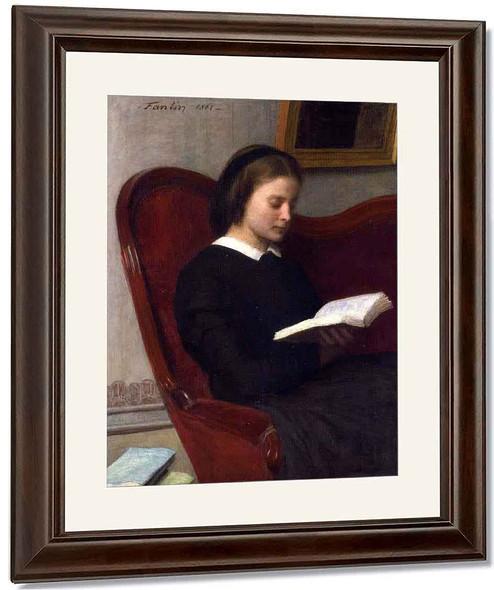 Reading By Henri Fantin Latour By Henri Fantin Latour