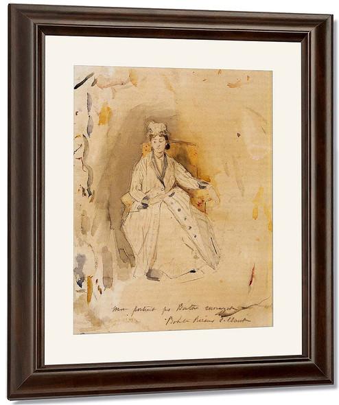 Rosalie Reisener By Berthe Morisot