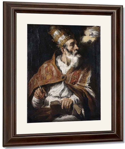 Saint Gregory By Domenico Fetti