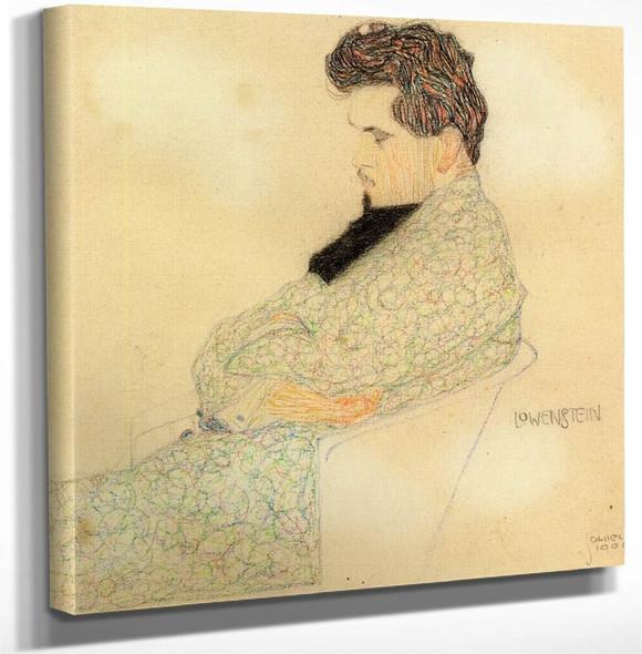 Portrait Of The Composer Arthur Lowenstein By Egon Schiele Art Reproduction