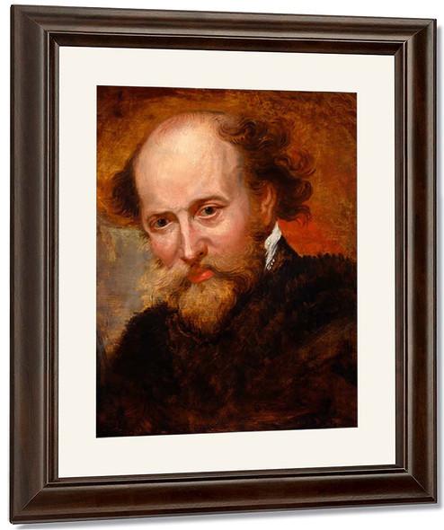 Self Portrait6 By Peter Paul Rubens By Peter Paul Rubens