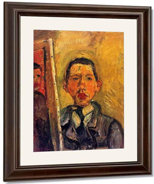 Self Portrait By Chaim Soutine