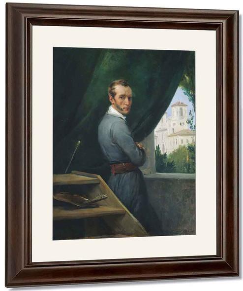 Self Portrait By Horace Vernet