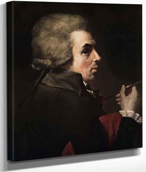 Self Portrait By Jacques Louis David By Jacques Louis David