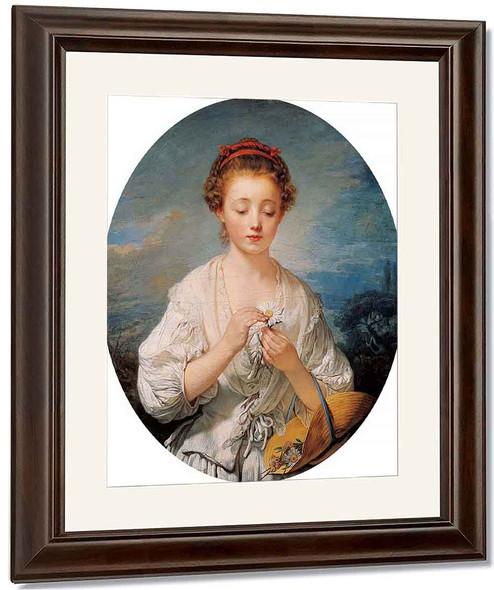 Simplicity By Jean Baptiste Greuze By Jean Baptiste Greuze