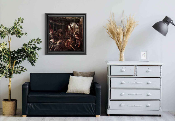 Probatica Piscina By Jacopo Tintoretto Art Reproduction