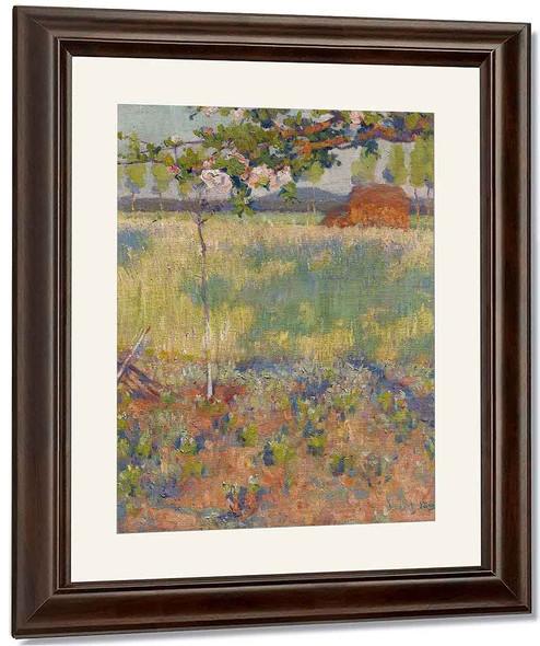 Springtime In France By Robert Vonnoh