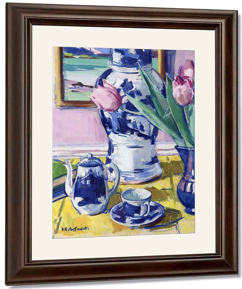 Stil Life By Francis Campbell Bolleau Cadell By Francis Campbell Bolleau Cadell