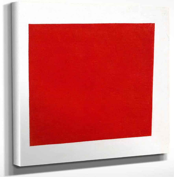 Red Square By Kasimir Malevich Art Reproduction