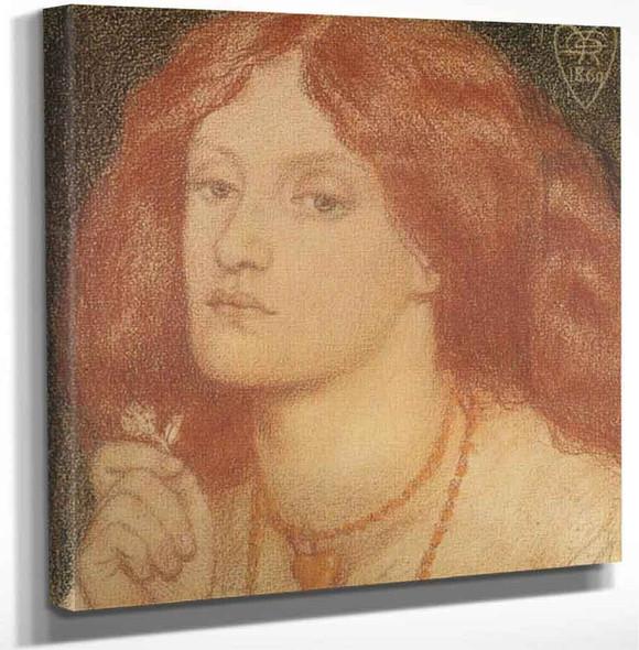 Regina Cordium2 By Dante Gabriel Rossetti Art Reproduction
