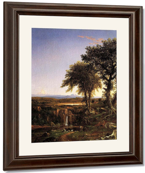 Summer Twilight By Thomas Cole By Thomas Cole