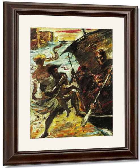 The Abduction By Lovis Corinth By Lovis Corinth