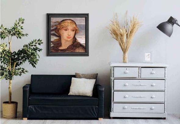 Roman Woman By Elihu Vedder Art Reproduction
