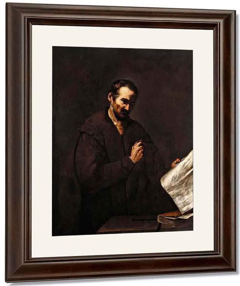The Astrologer By Jusepe De Ribera