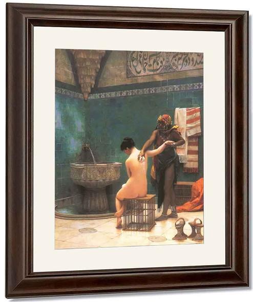 The Bath By Jean Leon Gerome By Jean Leon Gerome