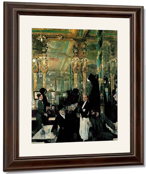 The Cafe Royal, London By Sir William Orpen By Sir William Orpen