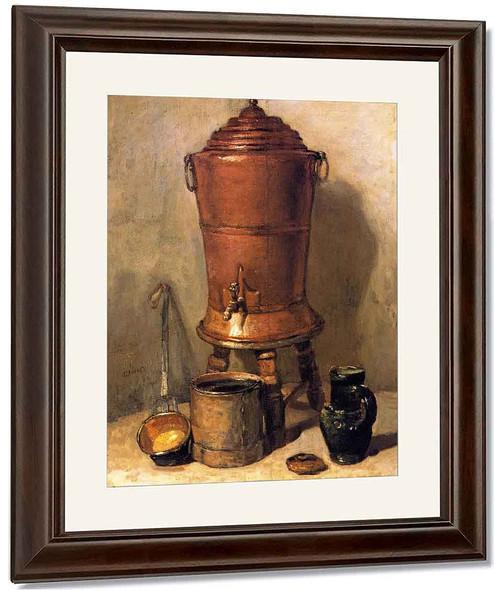 The Copper Cistern By Jean Baptiste Simeon Chardin By Jean Baptiste Simeon Chardin