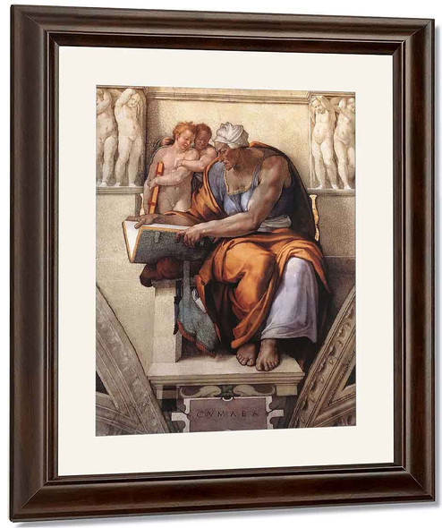 The Cumaean Sibyl 14 By Michelangelo Buonarroti By Michelangelo Buonarroti