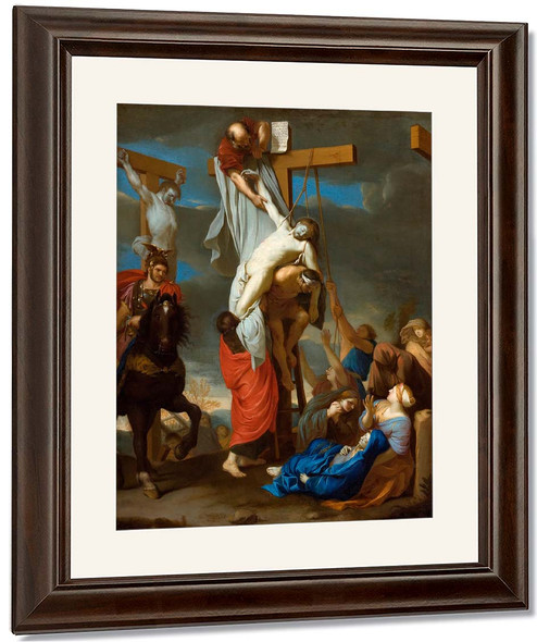The Descent From The Cross By Charles Le Brun By Charles Le Brun