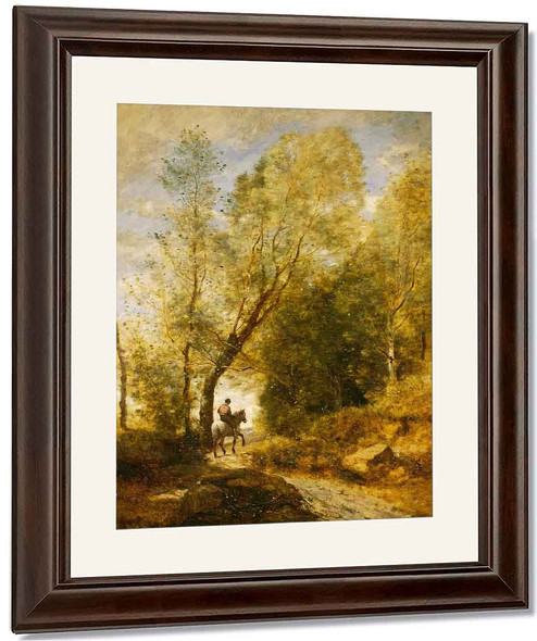 The Forest Of Coubron By Jean Baptiste Camille Corot By Jean Baptiste Camille Corot