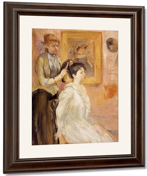 The Hairdresser By Berthe Morisot