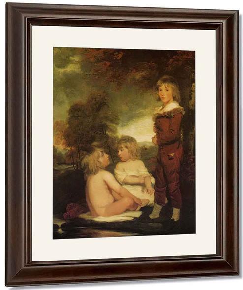 The Hoppner Children By John Hoppner