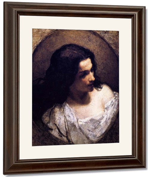 The Jewess By William Morris Hunt By William Morris Hunt