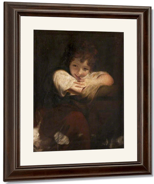 The Laughing Girl By Sir Joshua Reynolds
