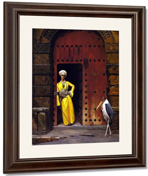 The Marabou By Jean Leon Gerome By Jean Leon Gerome