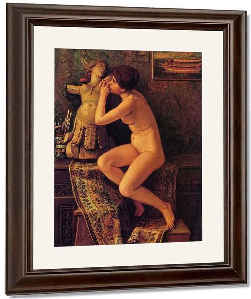 The Venetian Model By Elihu Vedder