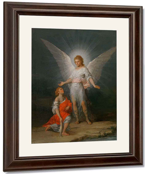 Tobias And The Angel By Francisco Jose De Goya Y Lucientes By Francisco Jose De Goya Y Lucientes