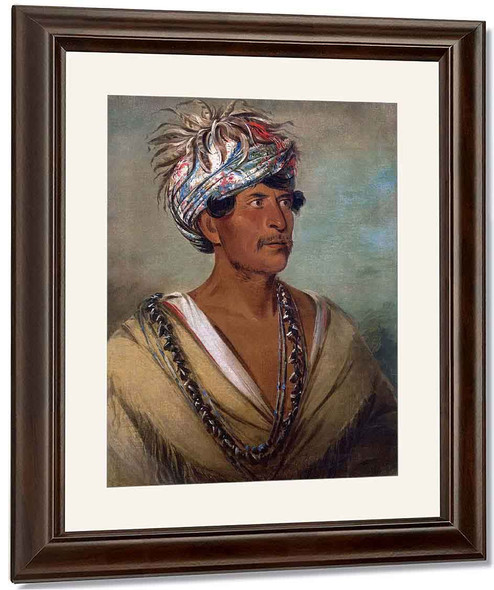 Tuch Ee, A Celebrated War Chief Of The Cherokees By George Catlin By George Catlin