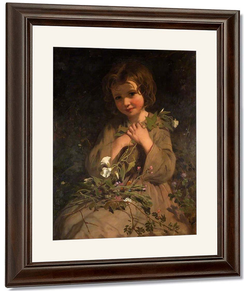 Wild Flowers By James Sant, R.A.