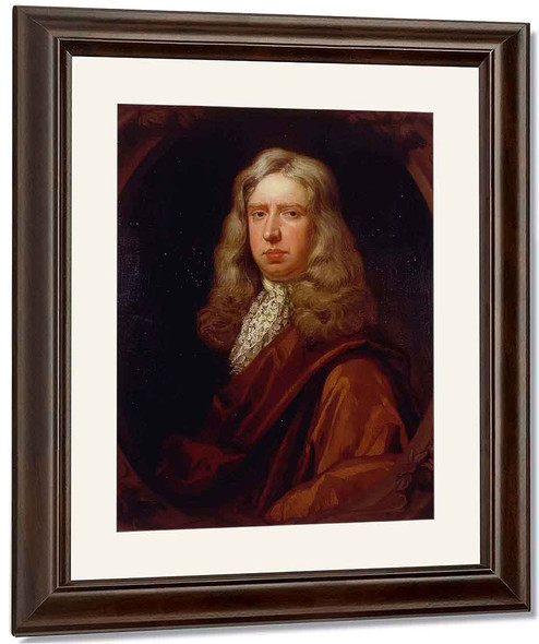 William Hewer By Sir Godfrey Kneller, Bt. By Sir Godfrey Kneller, Bt.