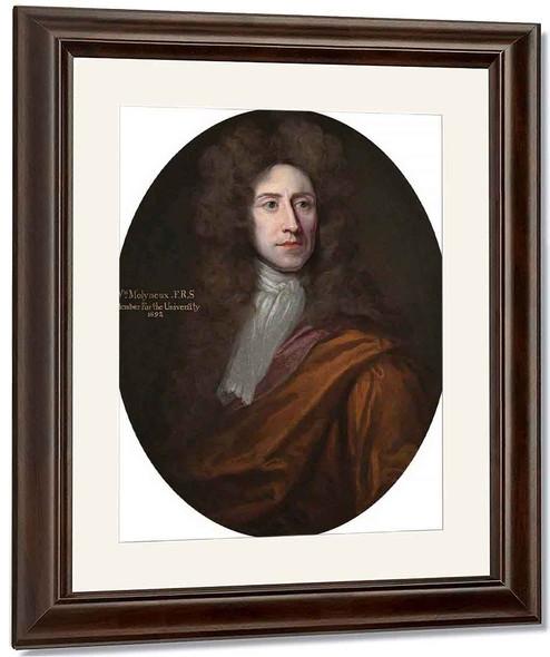 William Molyneux By Sir Godfrey Kneller, Bt. By Sir Godfrey Kneller, Bt.