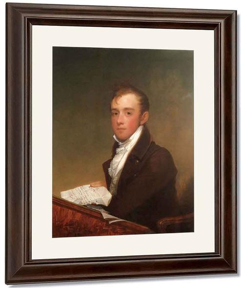 William Rufus Gray By Gilbert Stuart