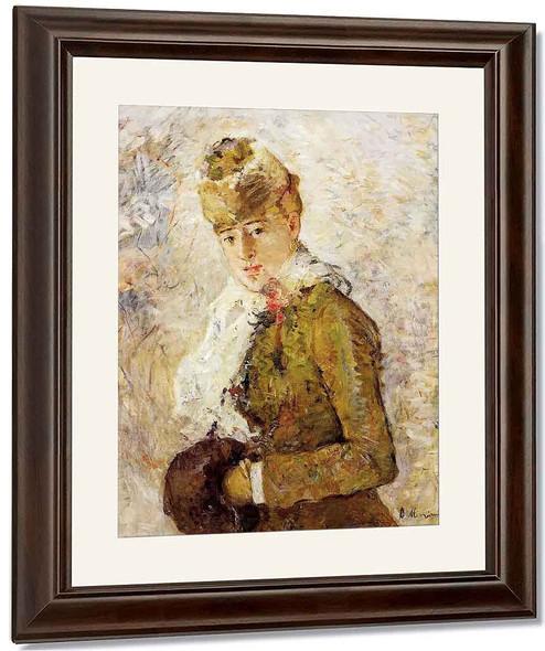 Winter By Berthe Morisot