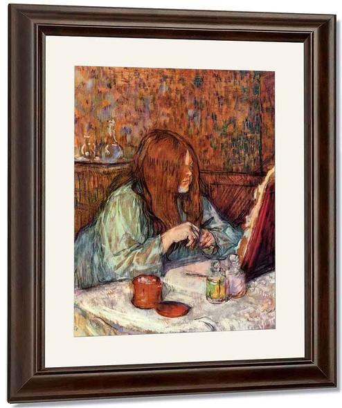 Woman At Her Toilettemadame Poupoule 2 By Henri De Toulouse Lautrec