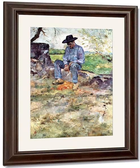 Young Routy At Celeyran By Henri De Toulouse Lautrec